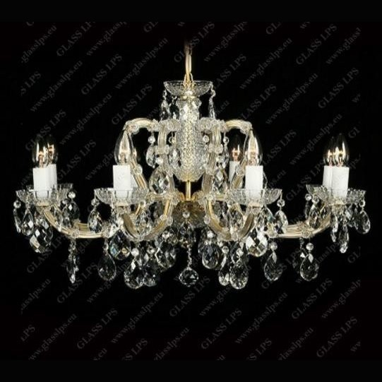 Candelabru Maria Theresa cristal Bohemia L14 102/08/1, Candelabre, Lustre Cristal Bohemia, Corpuri de iluminat, lustre, aplice, veioze, lampadare, plafoniere. Mobilier si decoratiuni, oglinzi, scaune, fotolii. Oferte speciale iluminat interior si exterior. Livram in toata tara.  a
