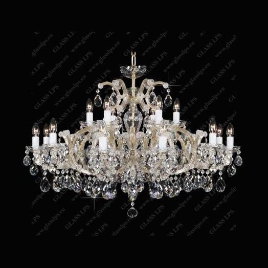Candelabru Maria Theresa cristal Bohemia L14 235/18/1, Candelabre, Lustre Cristal Bohemia, Corpuri de iluminat, lustre, aplice, veioze, lampadare, plafoniere. Mobilier si decoratiuni, oglinzi, scaune, fotolii. Oferte speciale iluminat interior si exterior. Livram in toata tara.  a