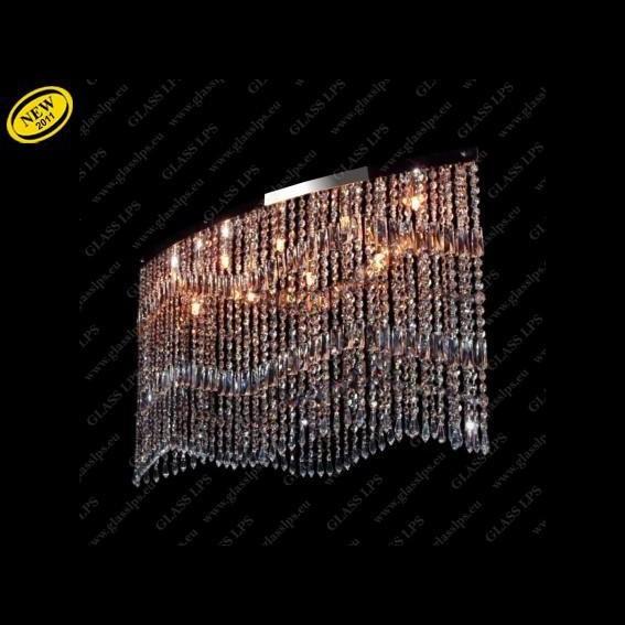 Pendul modern cristal Bohemia L17 010/09/3, 3-SK; Ni , Pendule Cristal Bohemia, Corpuri de iluminat, lustre, aplice a