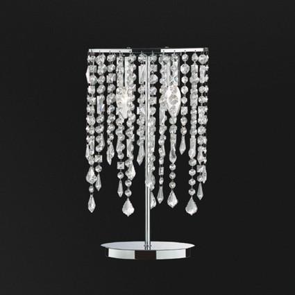 Veioza cristal Venezian RAIN TL2 008356, Veioze, Lampi de masa, Corpuri de iluminat, lustre, aplice a