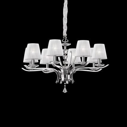 Lustra cristal Venezian diametru 76cm PEGASO SP8 059242, PROMOTII, Corpuri de iluminat, lustre, aplice, veioze, lampadare, plafoniere. Mobilier si decoratiuni, oglinzi, scaune, fotolii. Oferte speciale iluminat interior si exterior. Livram in toata tara.  a