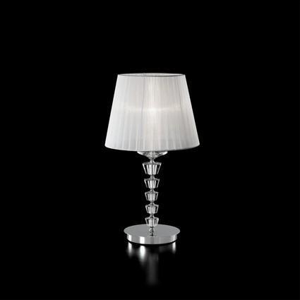 Veioza cristal Venezian PEGASO TL1 BIG 059259, Veioze, Lampi de masa, Corpuri de iluminat, lustre, aplice a
