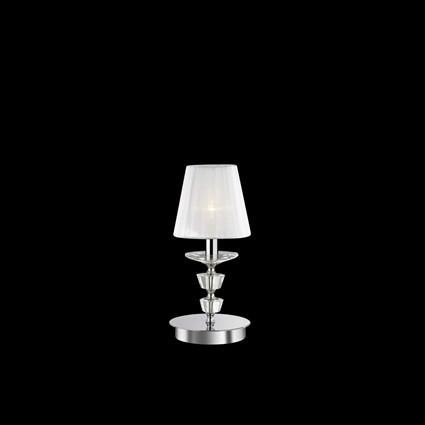 Veioza cristal Venezian PEGASO TL1 SMALL 059266, Veioze, Lampi de masa, Corpuri de iluminat, lustre, aplice a