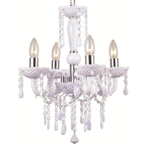Candelabru 4 brate diametru 42cm Cuimbra 63113-4 GL, Magazin, Corpuri de iluminat, lustre, aplice a