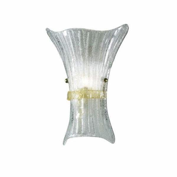 Aplica de perete design Italian FIOCCO AP1 BIG 014630, Aplice de perete, Corpuri de iluminat, lustre, aplice a