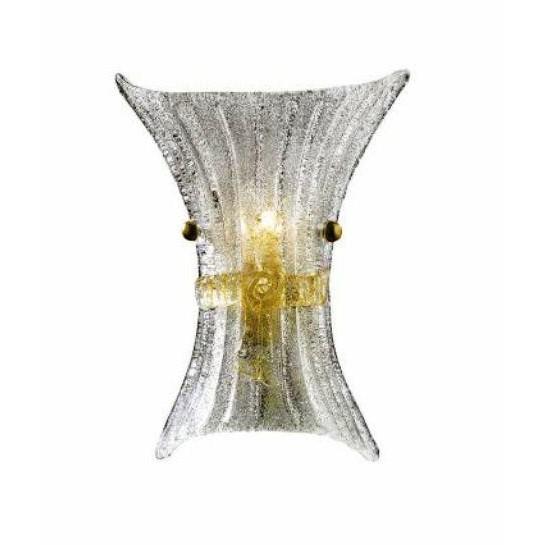 Aplica de perete design Italian FIOCCO AP1 SMALL 014623, PROMOTII, Corpuri de iluminat, lustre, aplice, veioze, lampadare, plafoniere. Mobilier si decoratiuni, oglinzi, scaune, fotolii. Oferte speciale iluminat interior si exterior. Livram in toata tara.  a
