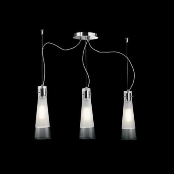 Pendul design italian KUKY CLEAR SP3 033952, Pendule, Lustre suspendate, Corpuri de iluminat, lustre, aplice a