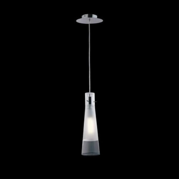 Pendul transparent design italian, KUKY CLEAR SP1 023021, Pendule, Lustre suspendate, Corpuri de iluminat, lustre, aplice a