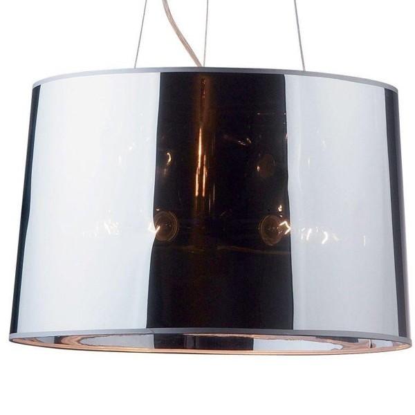 Pendul modern diametru 50cm LONDON CROMO SP5 032351 , Pendule, Lustre suspendate, Corpuri de iluminat, lustre, aplice a