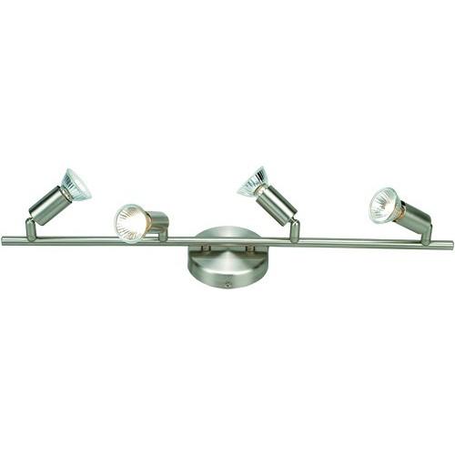Lustra Hot 5739-4 GL, Spoturi - iluminat - cu 4 spoturi, Corpuri de iluminat, lustre, aplice a