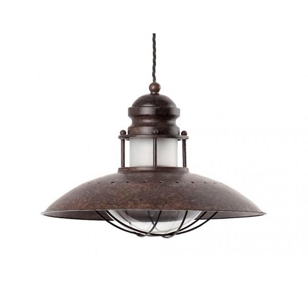 Pendul rustic diametru 35cm Winch 66204, Candelabre, Pendule, Lustre, Corpuri de iluminat, lustre, aplice a
