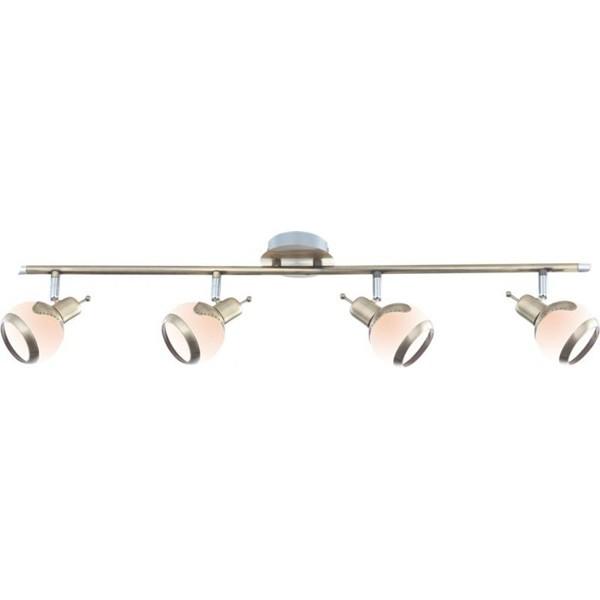 Lustra, Spot brass antique Galvin 56101-4, Plafoniere, Spots, Corpuri de iluminat, lustre, aplice a