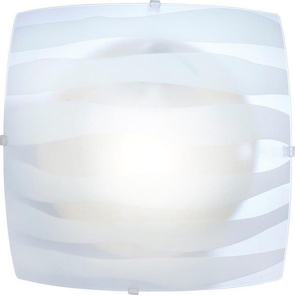 Plafoniera patrata 25x25cm Cedric 40981 GL, PROMOTII, Corpuri de iluminat, lustre, aplice, veioze, lampadare, plafoniere. Mobilier si decoratiuni, oglinzi, scaune, fotolii. Oferte speciale iluminat interior si exterior. Livram in toata tara.  a