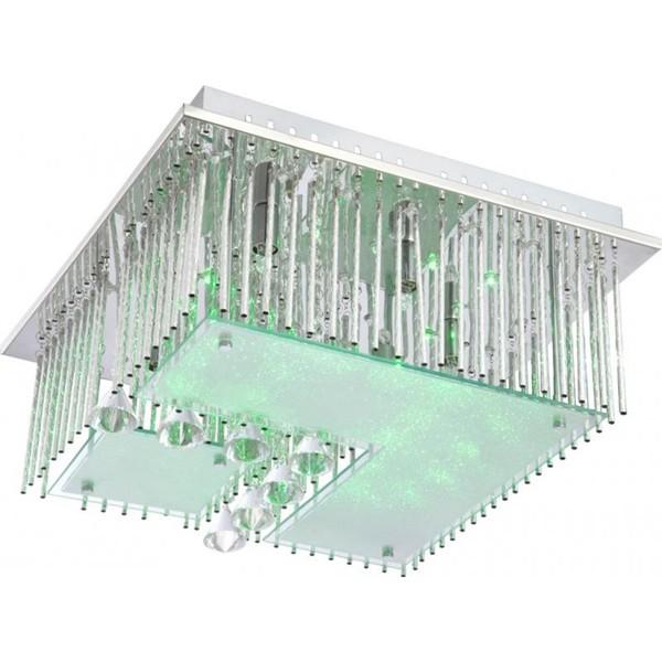 Plafonier LED cu Telecomanda Fragilis 68563-5 GL, Lampi LED si Telecomanda, Corpuri de iluminat, lustre, aplice a