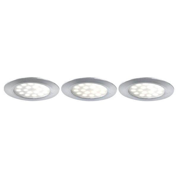 Spot set de 3 bucati tavan fals power LED 12314-3, Spoturi LED incastrate, aplicate, Corpuri de iluminat, lustre, aplice a