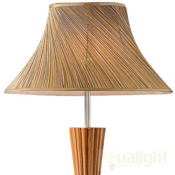Lampadar, lampa de podea din lemn BIVA-50 PT1 015750, PROMOTII, Corpuri de iluminat, lustre, aplice, veioze, lampadare, plafoniere. Mobilier si decoratiuni, oglinzi, scaune, fotolii. Oferte speciale iluminat interior si exterior. Livram in toata tara.  a