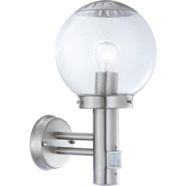 Aplica exterior cu senzor Bowle II 3180S GL, Iluminat cu senzor de miscare, Corpuri de iluminat, lustre, aplice a