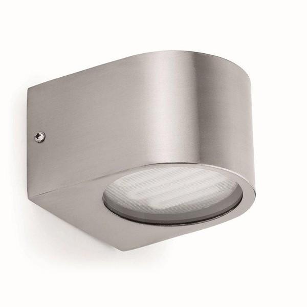 Aplica de perete exterior nickel matt, IP44  Ion-2  71385, Magazin, Corpuri de iluminat, lustre, aplice, veioze, lampadare, plafoniere. Mobilier si decoratiuni, oglinzi, scaune, fotolii. Oferte speciale iluminat interior si exterior. Livram in toata tara.  a