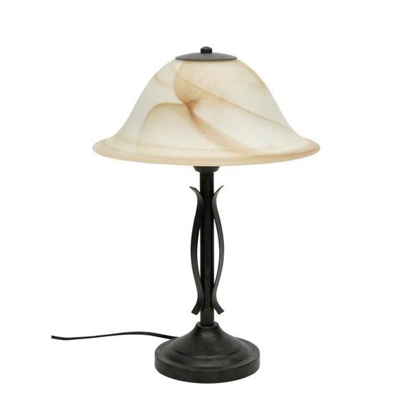 Veioza, lampa de masa  diametru 32cm Fiore 81949/58, Veioze, Corpuri de iluminat, lustre, aplice, veioze, lampadare, plafoniere. Mobilier si decoratiuni, oglinzi, scaune, fotolii. Oferte speciale iluminat interior si exterior. Livram in toata tara.  a