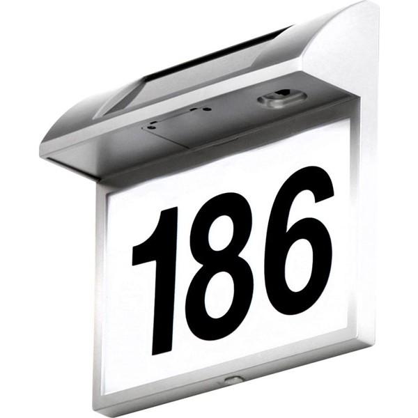 Numar de casa LED Solar Home 3379 GL, Cele mai vandute Corpuri de iluminat, lustre, aplice a