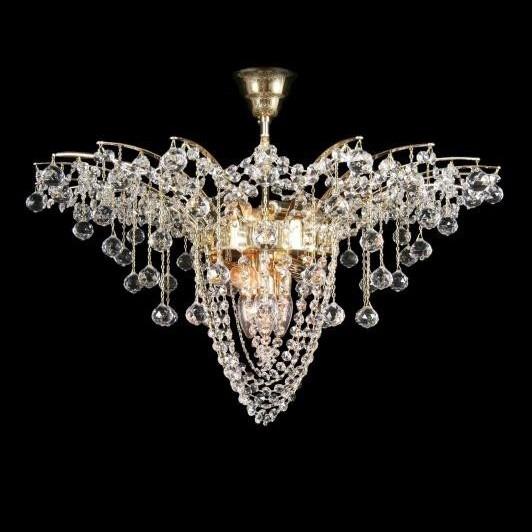 Plafonier cristal Bohemia diam. 68cm L15 755/09/4, LUSTRE CRISTAL, Corpuri de iluminat, lustre, aplice, veioze, lampadare, plafoniere. Mobilier si decoratiuni, oglinzi, scaune, fotolii. Oferte speciale iluminat interior si exterior. Livram in toata tara.  a