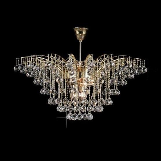 Plafonier cristal Bohemia diam. 68cm L15 655/09/4, LUSTRE CRISTAL, Corpuri de iluminat, lustre, aplice, veioze, lampadare, plafoniere. Mobilier si decoratiuni, oglinzi, scaune, fotolii. Oferte speciale iluminat interior si exterior. Livram in toata tara.  a