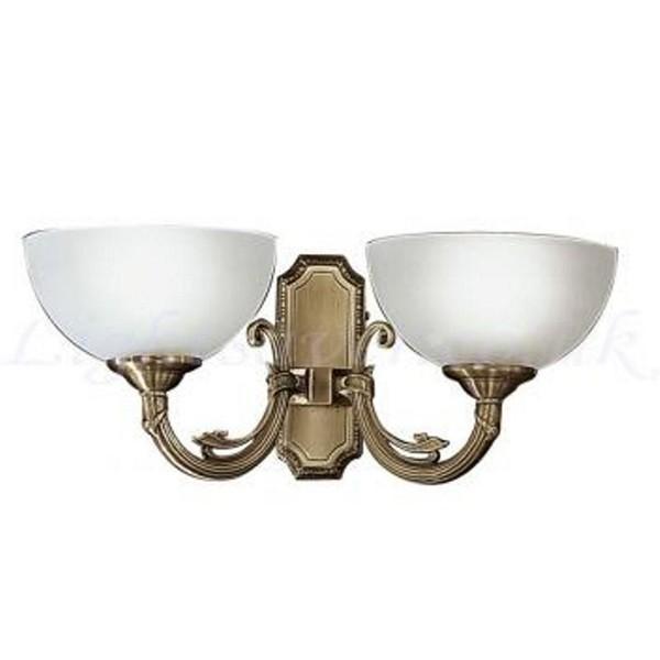 Aplica doua brate Savoy 82752 EL, Aplice de perete clasice, Corpuri de iluminat, lustre, aplice a
