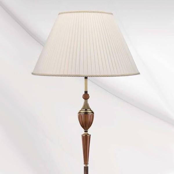 Lampadar, lampa de podea LUX cu lemn Anna 2407 Wood Bejorama, Lampadare clasice, Corpuri de iluminat, lustre, aplice a