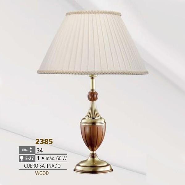 Veioza, lampa de masa LUX cu lemn Anna 2385 Bejorama, Veioze, Corpuri de iluminat, lustre, aplice, veioze, lampadare, plafoniere. Mobilier si decoratiuni, oglinzi, scaune, fotolii. Oferte speciale iluminat interior si exterior. Livram in toata tara.  a