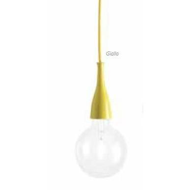 Pendul modern diametru 12cm MINIMAL SP1 Giallo 063621, NOU ! Lustre VINTAGE, RETRO, INDUSTRIA Style, Corpuri de iluminat, lustre, aplice a