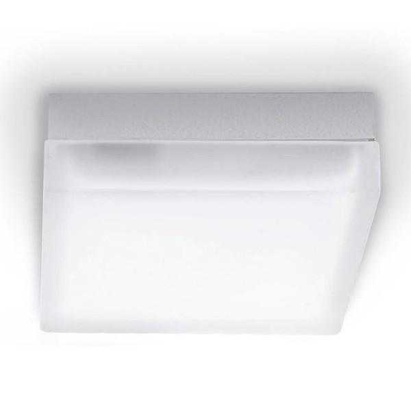 Plafonier crom 19x19cm IRIS PL2 D19 , Outlet, Corpuri de iluminat, lustre, aplice, veioze, lampadare, plafoniere. Mobilier si decoratiuni, oglinzi, scaune, fotolii. Oferte speciale iluminat interior si exterior. Livram in toata tara.  a