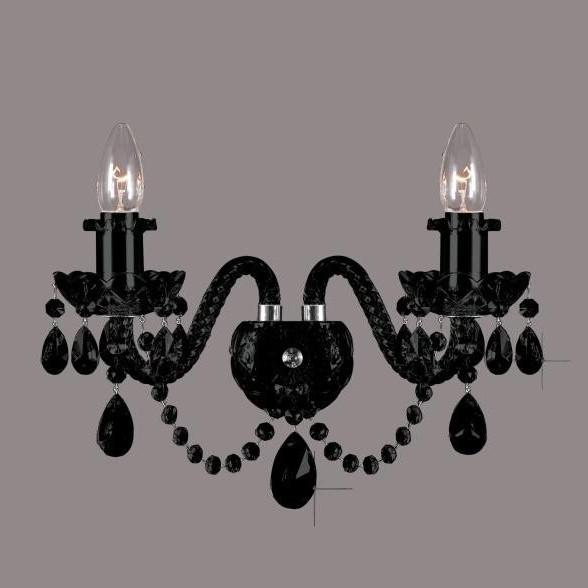 Aplica de perete cristal Bohemia N21 009/02/1-A all black, Magazin,  a