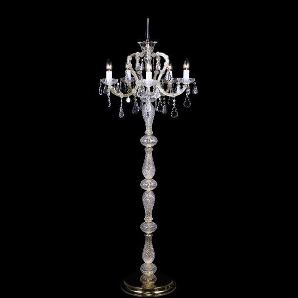 Lampadar Maria Theresa cristal Bohemia S44 002/05/2, Lampadare Cristal Bohemia, Corpuri de iluminat, lustre, aplice, veioze, lampadare, plafoniere. Mobilier si decoratiuni, oglinzi, scaune, fotolii. Oferte speciale iluminat interior si exterior. Livram in toata tara.  a