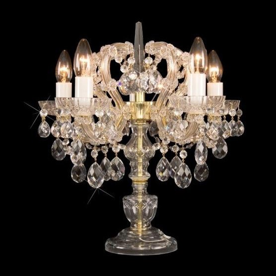 Veioza cristal Bohemia Maria Theresa S34 001/05/1, Veioze Cristal Bohemia, Corpuri de iluminat, lustre, aplice a