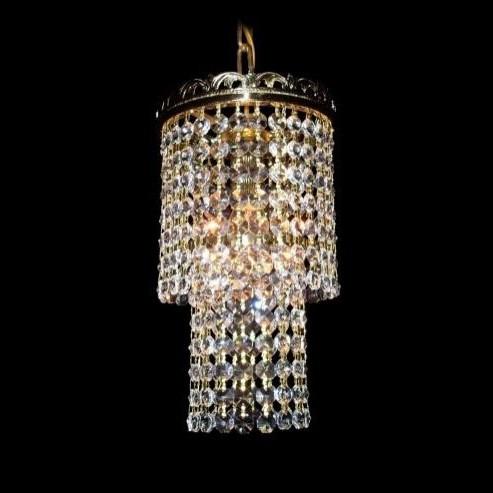 Lustra, Pendul LUX diam. 15cm cristal Bohemia L15 124/01/6, Lustre Cristal Bohemia, Corpuri de iluminat, lustre, aplice, veioze, lampadare, plafoniere. Mobilier si decoratiuni, oglinzi, scaune, fotolii. Oferte speciale iluminat interior si exterior. Livram in toata tara.  a