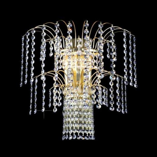 Aplica de perete Lux cristal Bohemia N25 775/02/6, Magazin,  a