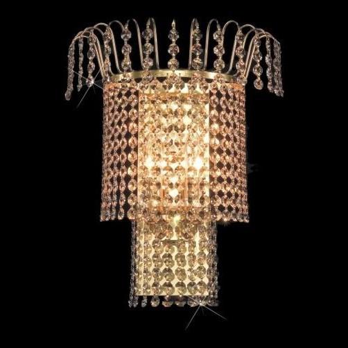 Aplica de perete Lux cristal Bohemia N25 774/02/6, Magazin,  a