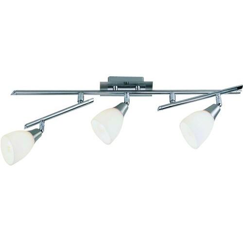Lustra Frank  5450-3 GL, Spoturi - iluminat - cu 3 spoturi, Corpuri de iluminat, lustre, aplice, veioze, lampadare, plafoniere. Mobilier si decoratiuni, oglinzi, scaune, fotolii. Oferte speciale iluminat interior si exterior. Livram in toata tara.  a