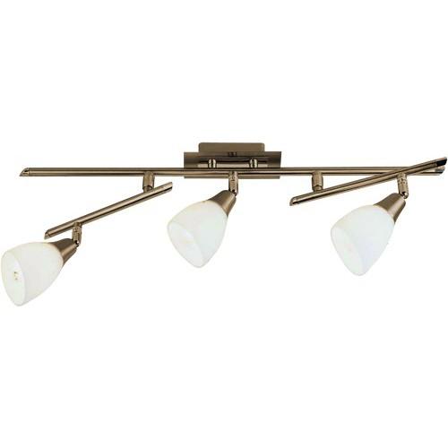 Lustra Frank 5451-3 GL, Spoturi - iluminat - cu 3 spoturi, Corpuri de iluminat, lustre, aplice, veioze, lampadare, plafoniere. Mobilier si decoratiuni, oglinzi, scaune, fotolii. Oferte speciale iluminat interior si exterior. Livram in toata tara.  a