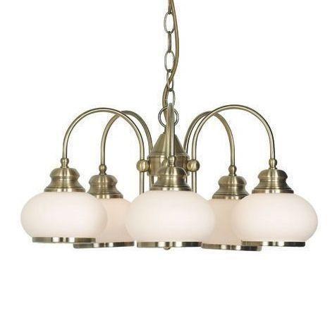 Candelabru Nostalgika 6900-5 GL, ILUMINAT INTERIOR RUSTIC, Corpuri de iluminat, lustre, aplice a