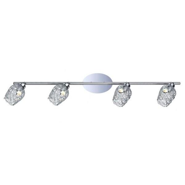 Lustra moderna cu 4 spoturi Figu 92033 EL, Spoturi - iluminat - cu 4 spoturi, Corpuri de iluminat, lustre, aplice a