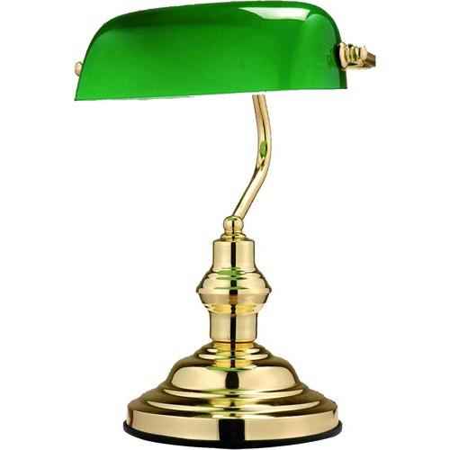 Veioza, lampa de masa Antique 2491 GL, Veioze de Birou moderne, Corpuri de iluminat, lustre, aplice a