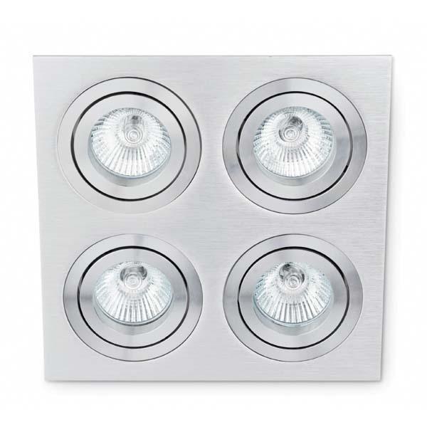 Spot incorporabil Plano-4 43388 Faro Barcelona, Spoturi incastrate, aplicate - tavan / perete, Corpuri de iluminat, lustre, aplice a