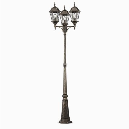 Stalp exterior IP43 inaltime 238cm VALLE PT3 , Stalpi de iluminat exterior mari, Corpuri de iluminat, lustre, aplice, veioze, lampadare, plafoniere. Mobilier si decoratiuni, oglinzi, scaune, fotolii. Oferte speciale iluminat interior si exterior. Livram in toata tara.  a