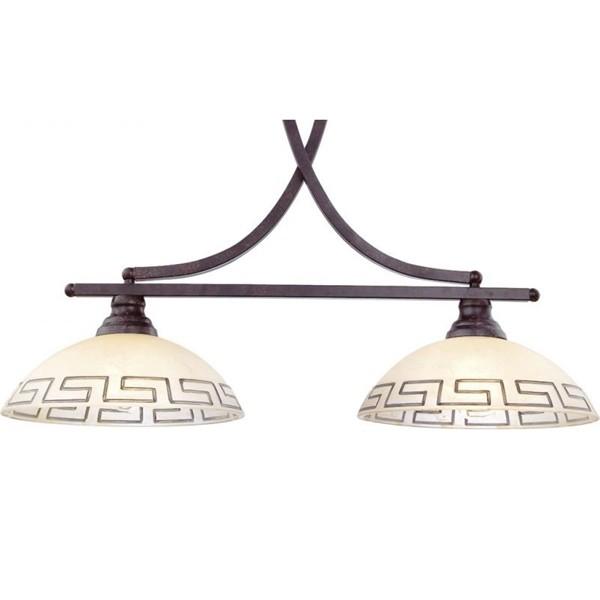 Pendul Rustica 6884-2 GL, ILUMINAT INTERIOR RUSTIC, Corpuri de iluminat, lustre, aplice, veioze, lampadare, plafoniere. Mobilier si decoratiuni, oglinzi, scaune, fotolii. Oferte speciale iluminat interior si exterior. Livram in toata tara.  a