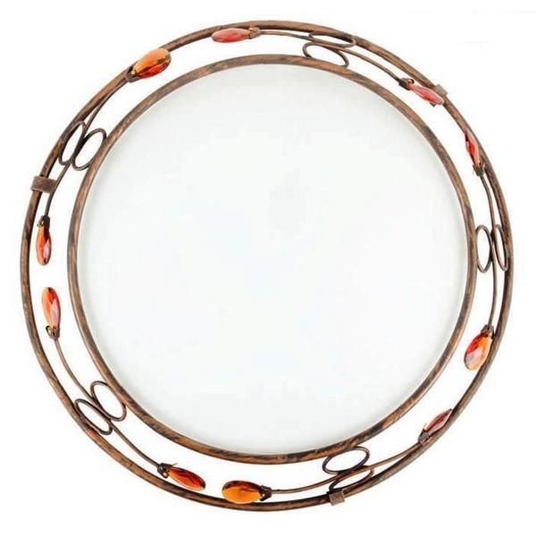 Plafonier clasic elegant diametru 46cm Cristal 4740304 , PROMOTII, Corpuri de iluminat, lustre, aplice a