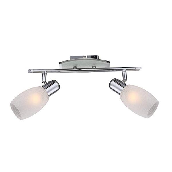 Aplica de perete, Plafonier Cyclone 54917-2 GL, Spoturi - iluminat - cu 2 spoturi, Corpuri de iluminat, lustre, aplice a