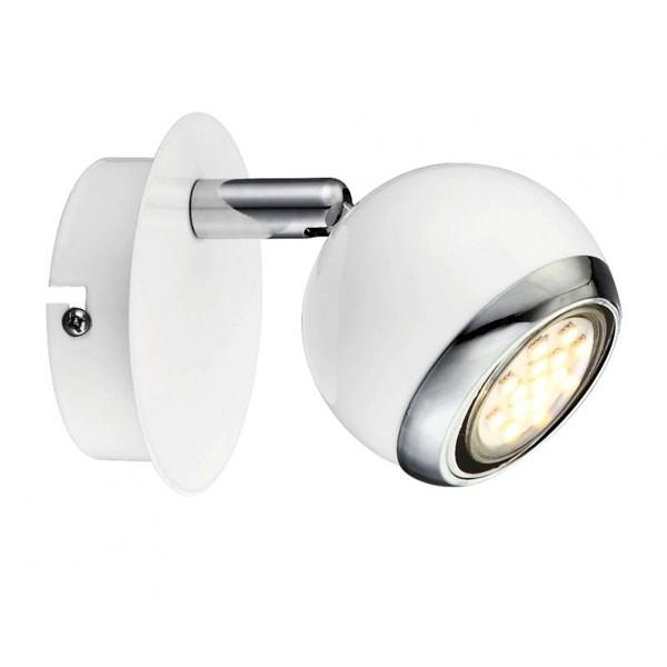 Aplica de perete moderna LED Oman 57882-1 GL, Aplice de perete LED, Corpuri de iluminat, lustre, aplice, veioze, lampadare, plafoniere. Mobilier si decoratiuni, oglinzi, scaune, fotolii. Oferte speciale iluminat interior si exterior. Livram in toata tara.  a