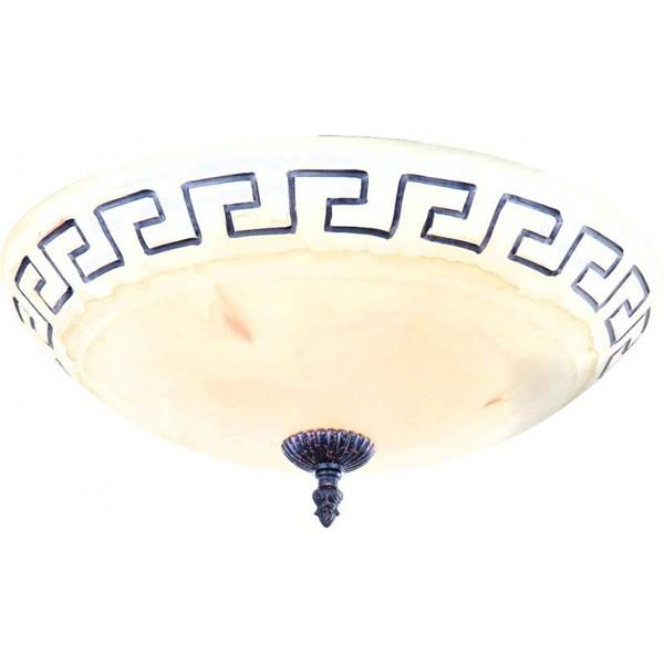 Plafonier diametru 40cm Rustica 6889 GL, Magazin, Corpuri de iluminat, lustre, aplice a