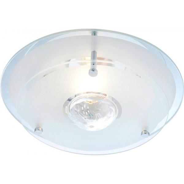 Plafonier  cu cristal Malaga 48327 GL, Plafoniere moderne, Corpuri de iluminat, lustre, aplice a